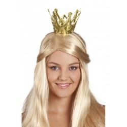 Couronne de reine dorée à monter soi même