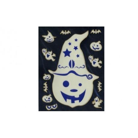 stickers-en-3d-d-halloween-tete-de-citrouille-fantome-yeux