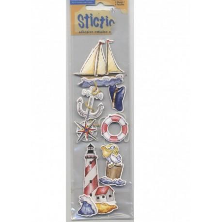 7-stickles-marins-bateau-ancre-casquette-boussole-phare