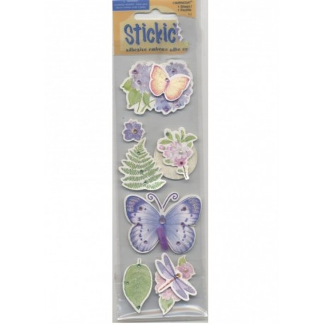 7-stickles-autocollants-botanique-papillons-libellule