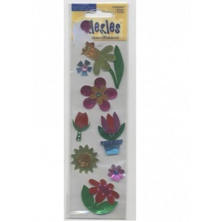 8-stickles-fleurs-en-papier-foil-autocollant-metallise