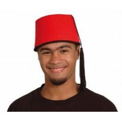 fez-en-feutrine-rouge-avec-pompon-noir