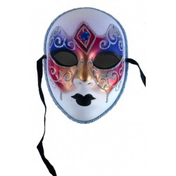 masque-volutes-paillettes-argent-rouge-violet-cuivre