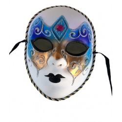 masque-volutes-paillettes-argent-bleu-violet-cuivre