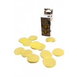 confettis-de-scene-en-forme-de-ronds-jaune-pale-100-grammes