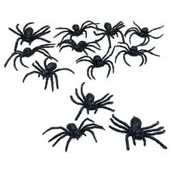 12-araignees-dodues-en-latex-noir