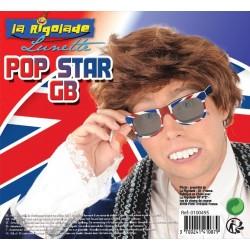 lunettes Pop Star de Grande Bretagne
