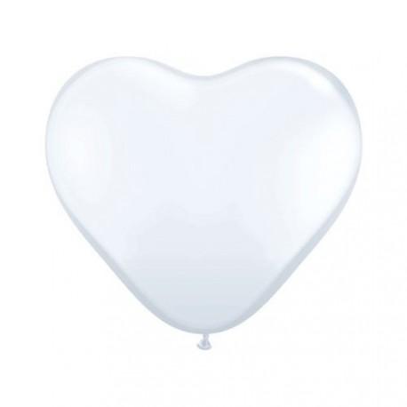 10 ballons de baudruche forme de coeur 40 cm Mariage Saint Valentin