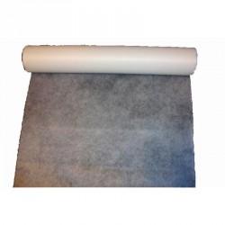 """Chemin de table """"Elégance"""" blanc en intissé 10 m x 30 cm"""