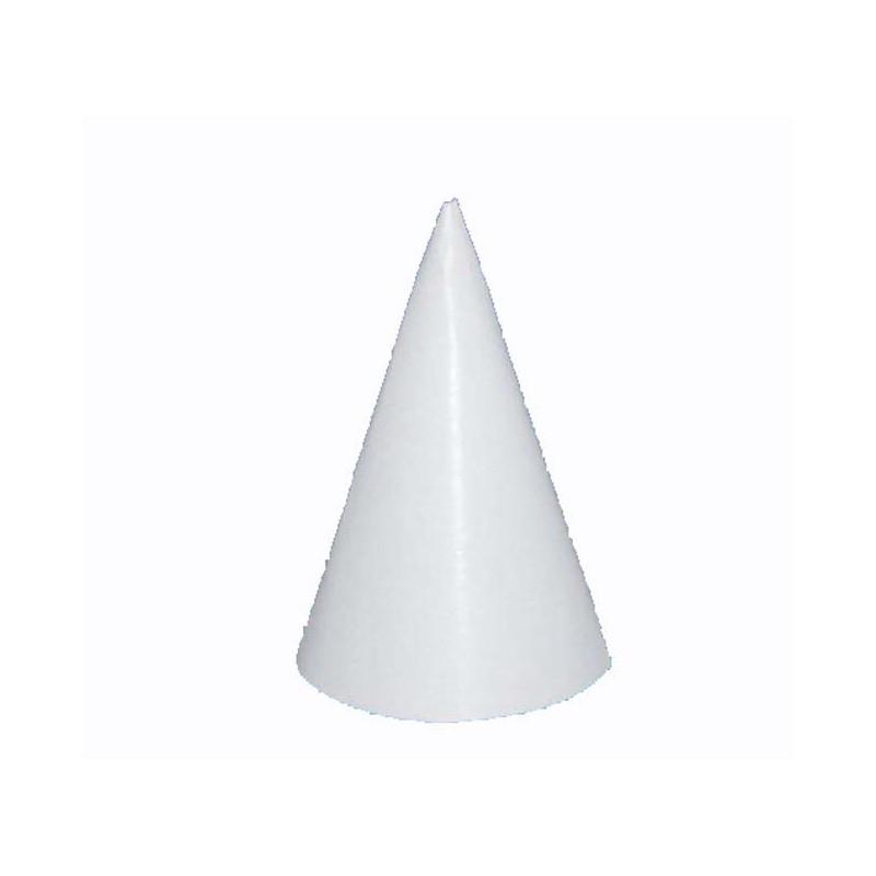 chapeau pointu en carton blanc 16 cm festi fiesta. Black Bedroom Furniture Sets. Home Design Ideas