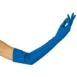 Gants longs lisses 60 cm