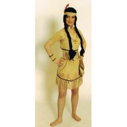 indienne en petit top et jupe courte taille 44/46