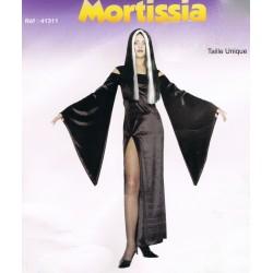mortissia-robe-longue-fendue-avec-manches-trompette-tres-longues