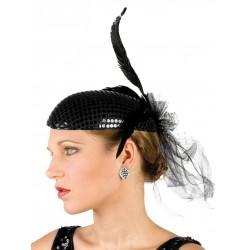 coiffe-de-cabaret-bibi-noir-paillettes-et-plumes-noir
