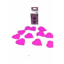 Confettis de scène en forme de coeur 100 grammes