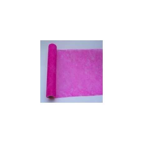 chemin-de-table-elegance-fushia-en-intisse-10-m-x-30-cm