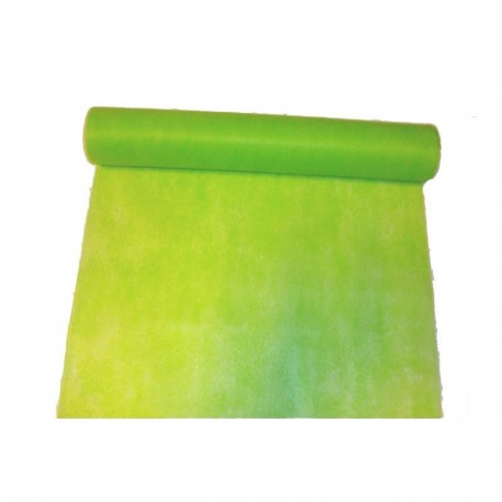 chemin-de-table-elegance-vert-anis-en-intisse-10-m-x-30