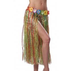 jupe-hawaienne-multicolore-franges-plastiques-agrementee-de-peti