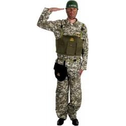 Déguisement de militaire camouflage Navy Seal