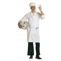 Tablier et toque de chef cuisto