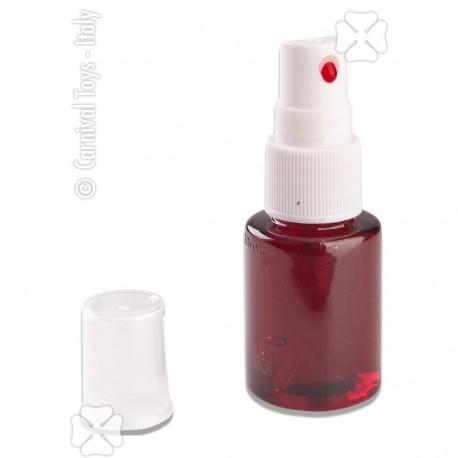 Spray sanglant, petite fiole de sang 20 ml pour maquillage et petite décoration d'Halloween