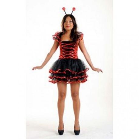 déguisement de coccinelle en robe froufrou