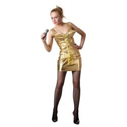 Pop star des années 1980, chanteuse dorée