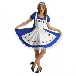Alice comme au pays des Merveilles déguisement de conte