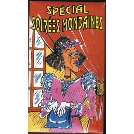 """Boite comique vintage année 1980/1990 """" spécial soirées mondaines """""""