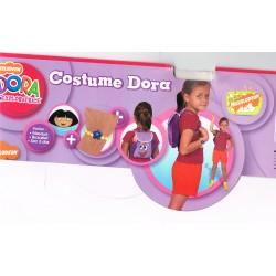 Vetement déguisement Dora l'exploratrice sous licence
