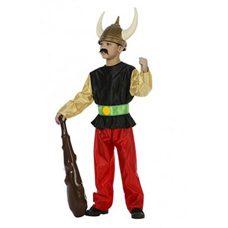 déguisement de gaulois pour enfant petit gaulois super costaud