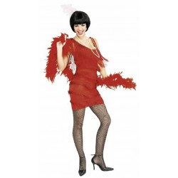 Robe charleston rouge madison roarin' red taille M