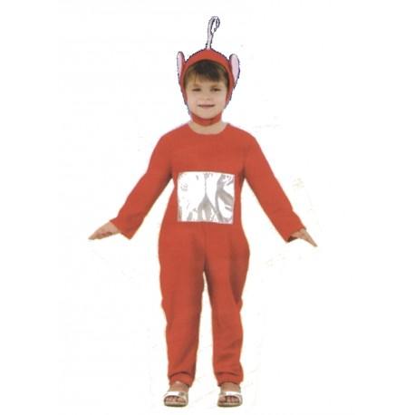 costume-tele-bebe-rouge-enfant-3-4-ans