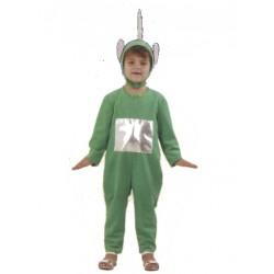Costume Télé-bébé vert enfant
