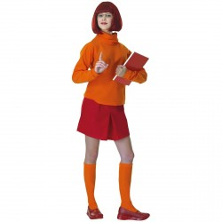 Costume de Vera Velma dans Scooby-doo taille unique