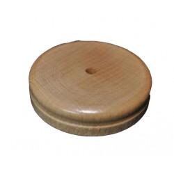 Socle en bois pour drapeau de table 1 trou