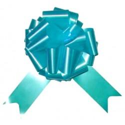 4 nœuds à tirer Noeuds automatiques bleu turquoise bandes de 5 centimètres