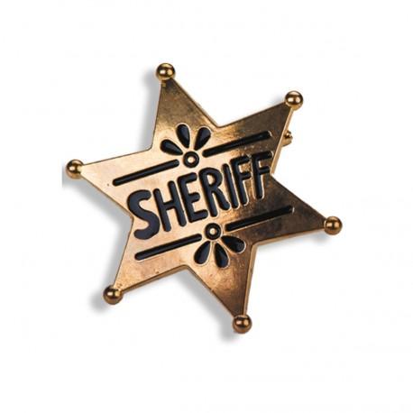 etoile-de-sherif-en-metal-dore