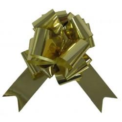 4 nœuds dorés métallisés à tirer Noeuds automatiques 5 cm