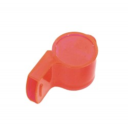1 Sifflet en plastique couleur opaque aléatoire