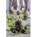 Marque-places en bois de couleur naturelle, décoration de table