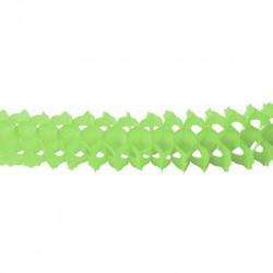 1 guirlande boa petit modèle couleur vert clair longueur 3 mètres