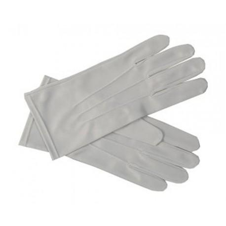 Gants gris de cérémonie pour homme taille 10 sur le dessus de la main 3 coutures