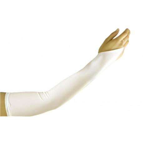 gants ivoire mat