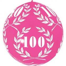 1-ballon-de-baudruche-10-ans-rose-fuchsia-80-cm-laurier