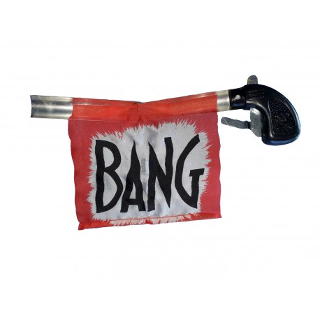 Pistolet Bang ... une farce et attrape ancestrale le pistolet du temps du cinema muet