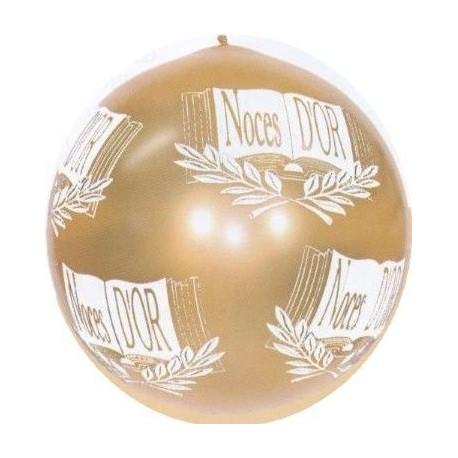ballon-de-baudruche-dore-noces-d-or-80-cm