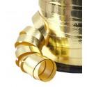 1 rouleau de 30 mètres de bolduc doré 10 mm