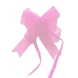 15-noeuds-a-tirer-automatique-en-organza-rose-clair-9-centimetres