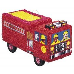 pinata-en-forme-de-camion-de-pompier-a-suspendre-facon-pignata-à-casser